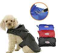Colorful Pet  Raincoat Outdoor Jacket for Dogs and Cats(Assorted Colors and Sizes)