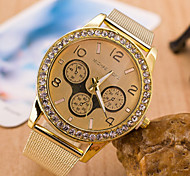 Men's Watches Europe And The Trend Of Alloy Net With Diamond Quartz Watch Major Suit