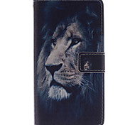 LG G4 PU Leather Full Body Cases / Cases with Stand Graphic case cover