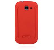 estuche blando xmart® sliciilicone para samsung galaxy tendencia dúos s7572 2 cajas del teléfono celular (color clasificado)
