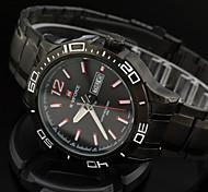Men's Wrist Watch Full Steel Army Military Sports Watches Waterproof Calendar Brand Clock New Arrival Top Hour Man
