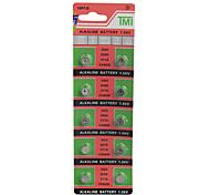 tmi lr626 AG4 377 de alta capacidade baterias botão (10pcs)