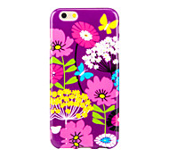 Magic Spider®Flowers High Quality Back Case Cover with Screen Protector for Iphone6S Plus/6 Plus