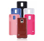 Special Design Fashion High-Grade Solid Color PU Leather Plastic Holster for Samsung Galaxy S5 I9600 (Assorted Colors)