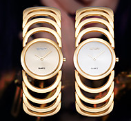 3 Colour Luxury Smart Womens Ladies Watches Dressed Wrist Quartz Bracelet Bangle Watch Skeleton Band