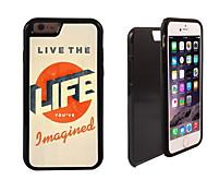 Leben in 2 Design für iphone 6 leben in 1 Hybrid Rüstung Ganzkörper-Dual-Layer-Schock-Schutz slim case plus
