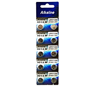 ALKALINE AG10 LR1130 389 High Capacity Button  Batteries (10PCS)