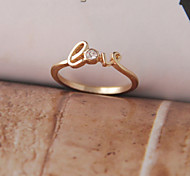 Alloy Ring Midi Rings/Band Rings Wedding/Party/Daily/Casual 1pc