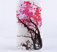 modello ramo coperture del telefono rilievo dipinto materiale TPU trasparente per Alcatel One Touch pop c9