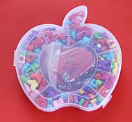 beadia Acryl diy Perlen sortierte Farbe und Form in Kunststoff-Box scherzt Spielzeuggeschenk für Halskette Armband Schmuck machen