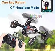 GFS H6C Drohne 2.4G 4CH rc quadcopter 360-Grad-Eversion mit 2.0MP HD Kamera / Headless Mode / einem Tastenrück