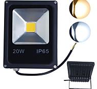 20W Projecteurs LED LED Haute Puissance 2000 lm Blanc Chaud / Blanc Froid Décorative AC 85-265 V 1 pièce