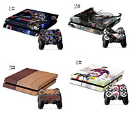Designer Vinyl Skin for Gaming PS4 Console and 2xFree Controller Sticker Decal
