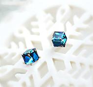 Starlight crystal fashion stud earrings