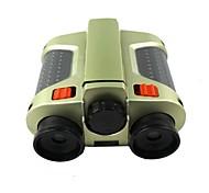 película verde con el telescopio lámpara de noche visión plástica de doble cilindro de enfoque