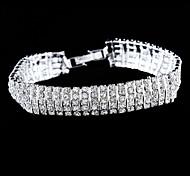 Exquisite Seven Rows Set Drill Bracelet