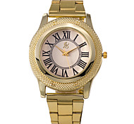 caso mostrador redondo relógio da liga relógio marca de moda masculina de quartzo