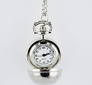 Lovely Ball Shape Pocket Watch Sweater Necklace