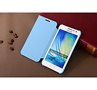 For Samsung Galaxy Case Flip Case Full Body Case Solid Color PU Leather Samsung A3