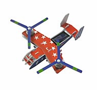 Solar Powered Dual-Engine Assembly Foam Transport Plane Toys