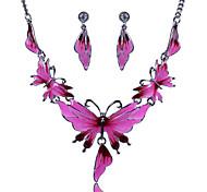 Women Vintage Butterfly Shape Necklaces/Earrings Sets(More Colors)