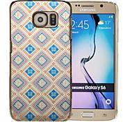 Magie spider®blue Rhombus Vergoldung bunte Malerei zurück Fall mit Screen Protector für Samsung-Galaxie s6