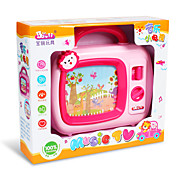 Developmental Multifunctional Wind Up TV For Kids With Light Music