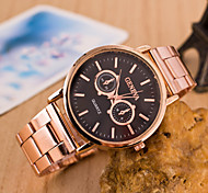 Men's Watches Fashion Glasses Steel Watch