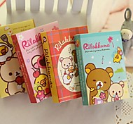 Cute Bear Style Self-Stick Note (Random Color)