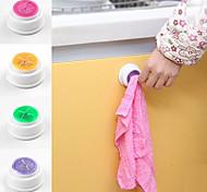 Poke N Pull Self Adhesive Easy Install Towel Holder (Random Color)
