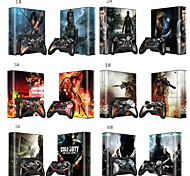 Vinyl Decal Skin Sticker for Xbox360 E with 2 Controller Skins