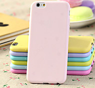 Star Bow Print Candy Color Slim Soft TPU Phone Case for iPhone 6/6S (Assorted Colors)