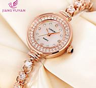 Full Rhinestones Watches Luxury Shiny Fashion Women Quartz Watch Dress Wrist Watch Cool Watches Unique Watches