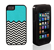 Ripple Design 2 in 1 Hybrid Armor Full-Body Dual Layer Shock-Protector Slim Case for iPhone 5/5S