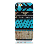 Magic Spider®Geometric Ultra Thin Painting TPU Back Case Cover with Screen Protector for Iphone5 Iphone5s