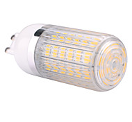 G9  15W 60x5730SMD 1500LM 2800-3200K /6000-6500K Warm White/Cool White Light LED Corn Bulb with Striped Cover (85-265V)