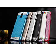 Fashion Bling crystal rhinestone Plastic Bumper Frame Case Back Cover For Samsung Galaxy note3 (Assorted Color)