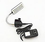 lámpara de acuario acuario llevó el mini acuario acuario clip de lámpara Soporte lámpara jl-24 toque de inducción tipo nos calibre macho