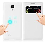 copertura super intelligente per caso i9500 Samsung Galaxy S4 aggiornamento intelligente scia pulsante sonno auto con pelle filp