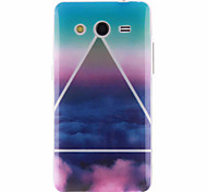 The Sky Cloud Pattern TPU Soft Cover for Samsung Galaxy Core 2 G3556D/G355H