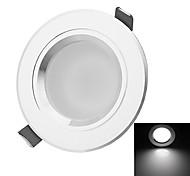 hésion hs03005 5W 450-550lm 3000k / 6000k lumière blanche / blanc chaud led lampe spot de plafond - argent (86 ~ 265V)