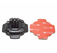 Mount for Helmet, 360 degrees Rotation, with Lock, with 3M Sticker. Suitable for GoPro Hero3+/3/2/1