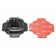 monter pour casque, 360 degrés de rotation, avec serrure, avec l'autocollant 3M. adapté pour GoPro hero3 + / 3/2/1