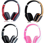 Headset Wireless Foldable Folding Stereo Earphones with Noise Cancelation Microphone & Rechargeable Li-ion Battery