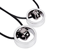 Fashion Chain Pendant Necklace(A Couple)