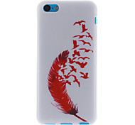 Red Feather Design TPU Soft Cover for iPhone 5C