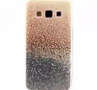 schönen Sand-Muster-TPU weich rückseitige Abdeckung für Samsung-Galaxie a3