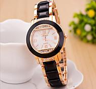 Women's Round Dial Case Plastics Watch Brand Fashion Quartz Watch(Move Color AVail Able)