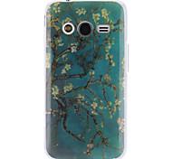 Para Funda Samsung Galaxy Diseños Funda Cubierta Trasera Funda Árbol TPU Samsung Ace 4