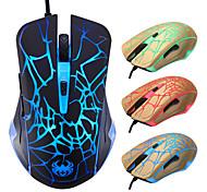 E-Sport-Gaming-Maus / mise Synchronisation Atmung Licht farblich verändert knacken kühlen Linie verdrahtete optische Maus / mise